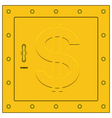 Safe box vector