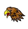 Eagle mascot vector