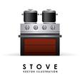 Stove design vector
