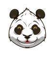 Cartoon panda bear vector