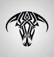 Tribal bulls head vector