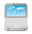Icon for laptop vector