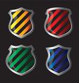 Shield emblem vector