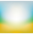 Blurred summer background vector