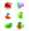 Abstract glowing design elements vector
