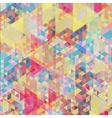 Color geometric background vector