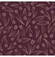 Tulip pattern vector