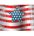 Usa flag theme grunge background vector