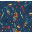 Vegetables - seamless pattern background vector