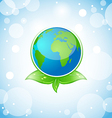 Green earth eco concept vector