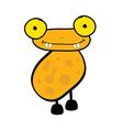 Funny adorable animal vector