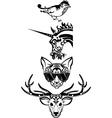 Animals set - vector