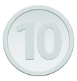 Ten coin vector