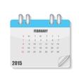Calendar 2015 year vector