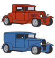 Hot rods vector