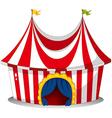A circus tent vector