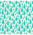 Pattern with rain drops in tropical colors vector