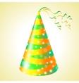 Birthday hats background vector