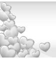 Stylish beautiful valentine day heart background vector