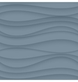 Gray seamless wavy background texture vector
