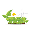 Ecology green nature vector