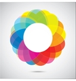 Abstract color figure vector