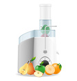Electric kitchen juicer 02 vector