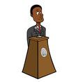 President black vector