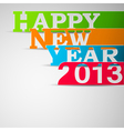Happy new year paper strips eps10 vector