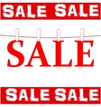 Sale tags with sale vector