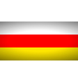 Flag of south ossetia vector