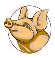 Pork label vector