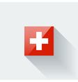 Flag of switzerland vector