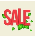 Sale typography background vector