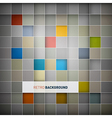 Abstract background - colorful squares vector