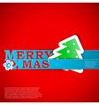 Merry xmas strips card eps10 vector