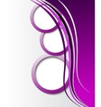 Elegant abstract purple background vector