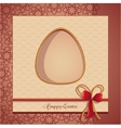 Postcards easter vector