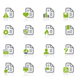 Documents icons vector