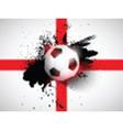 Grunge football soccer background vector