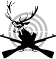 Deer hunt vector