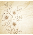 Linum flower vector