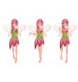 Floral fairy3 vector