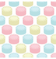 Cakes seamless vector