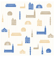 Stockholm seamless pattern vector