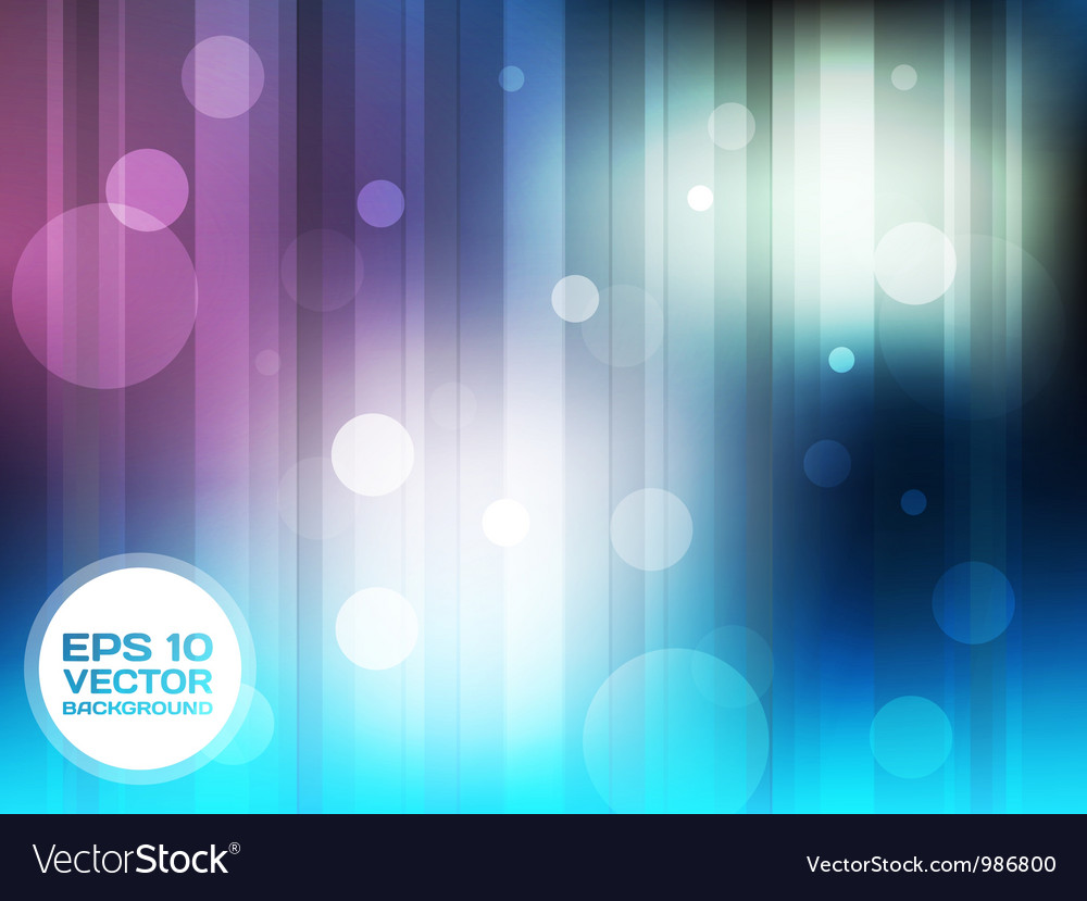 Blue and violet circles background vector | Price: 1 Credit (USD $1)