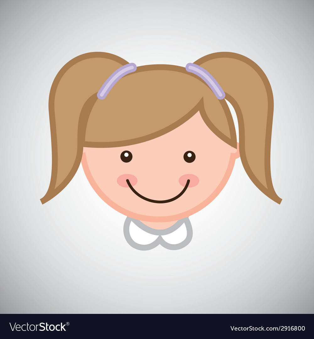 Girl graphic vector | Price: 1 Credit (USD $1)