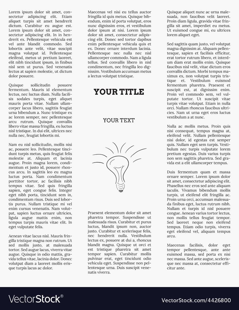 Newspaper vector   Price: 1 Credit (USD $1)