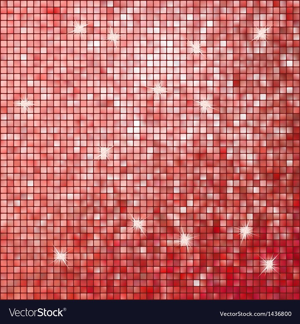 Red abstract mosaic background eps 10 vector | Price: 1 Credit (USD $1)