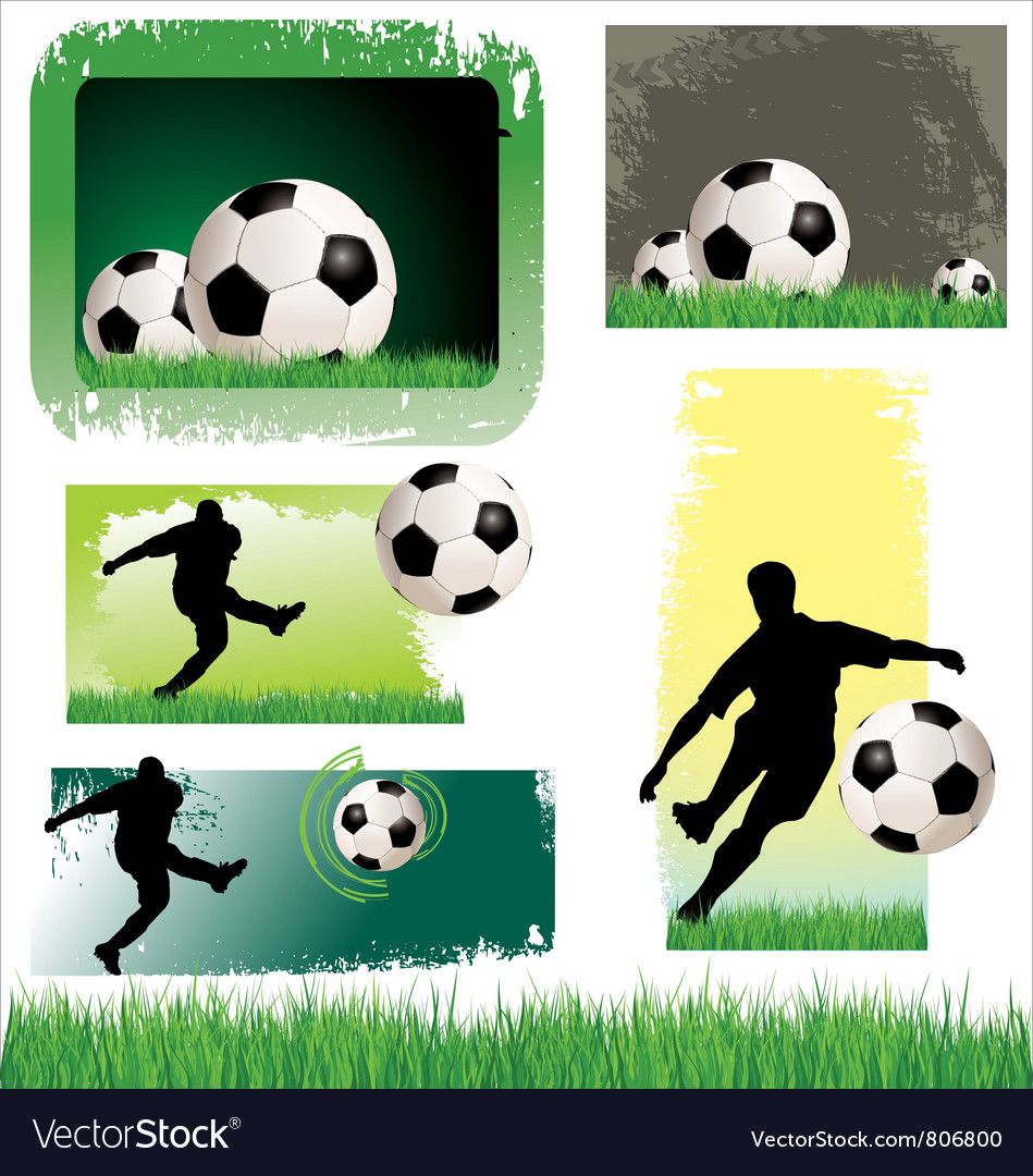 Soccer banner set vector | Price: 3 Credit (USD $3)
